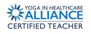 Yoga for Health in Alliance Qualified Teacher Logo